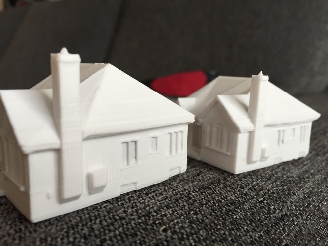 Dad's House 3D Print 25557