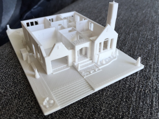 Dad's House 3D Print 25558