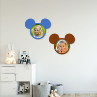 Small MICKEY PHOTO FRAME FOR KIDS 3D Printing 255614