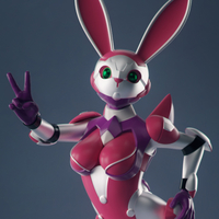 Small Sexy Space Bunny Girl  3D Printing 255615