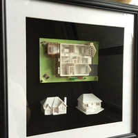 Small Dad's House 3D Printing 25562