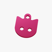 Small Cat face trinket 3D Printing 255685