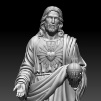 Small Almighty God 3D Printing 255712