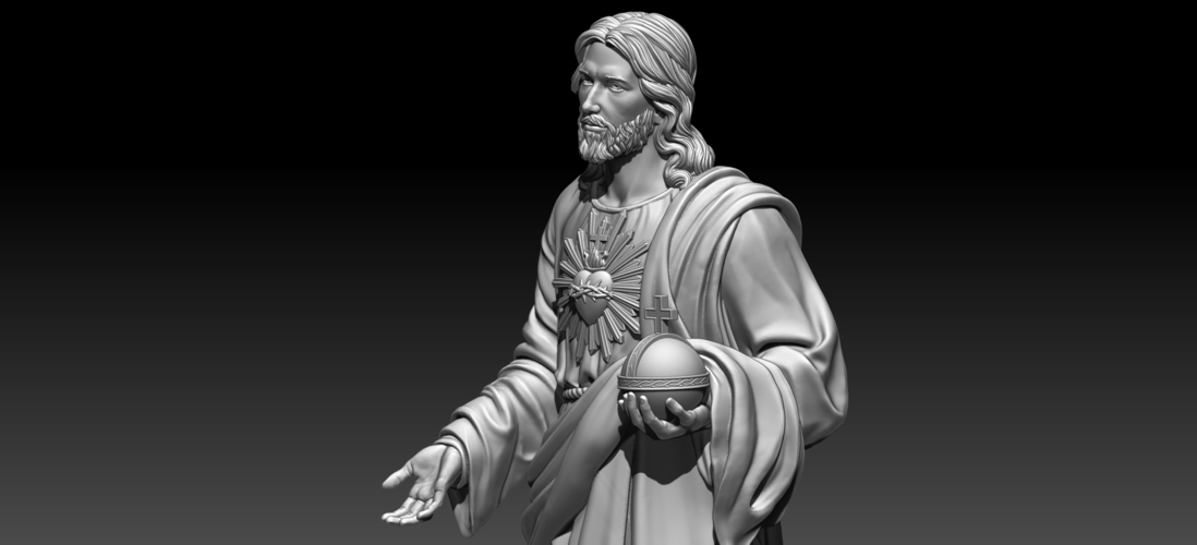 Almighty God 3D Print 255713