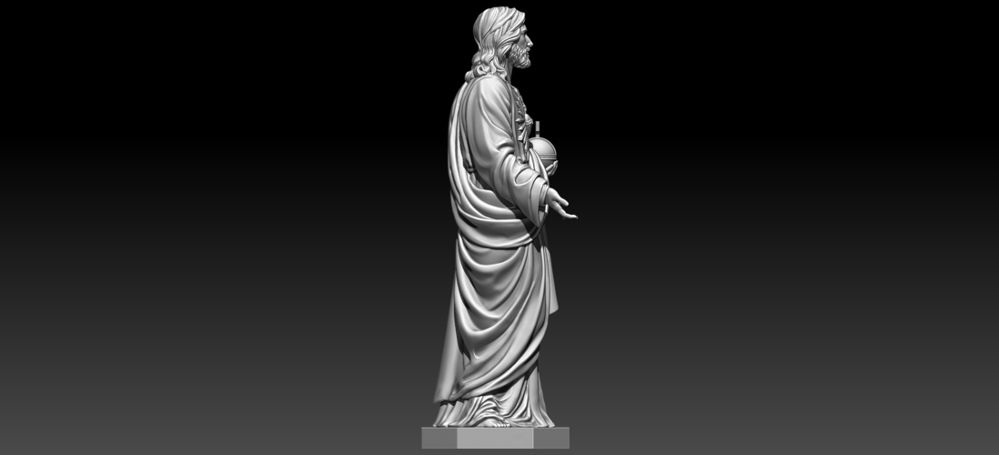 Almighty God 3D Print 255715
