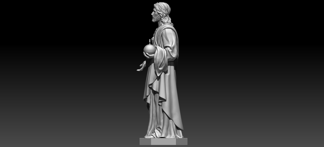 Almighty God 3D Print 255718