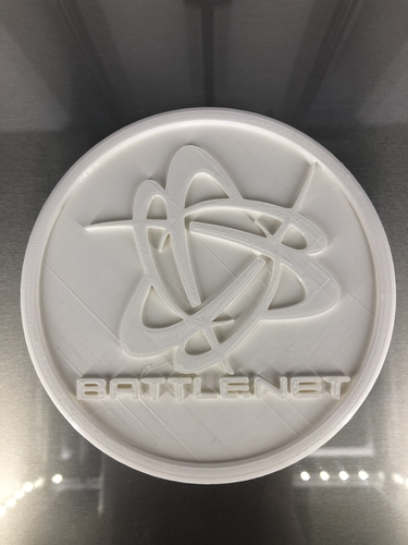 Battle.net coaster 3D Print 255729
