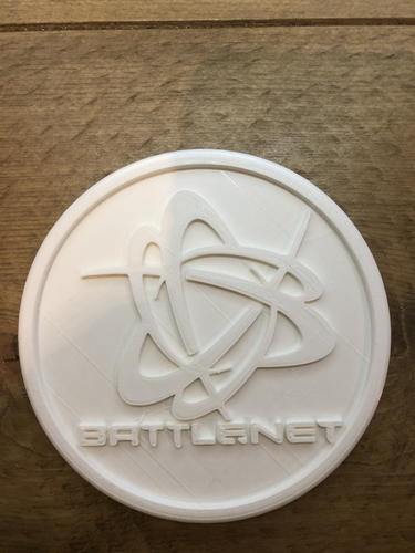 Battle.net coaster 3D Print 255730