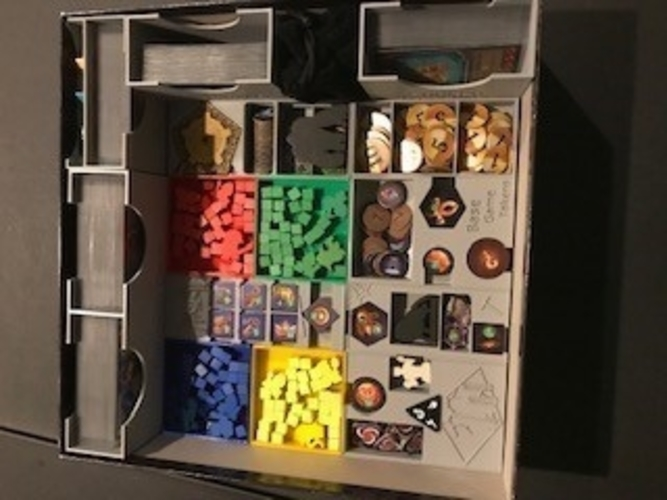Clank board game insert 3D Print 255752