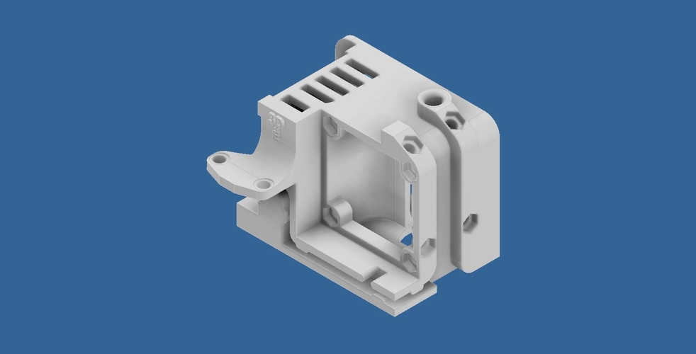 ENDER 3 EXTRUDER COVER COOLING AND MOUNT FOR BL TOUCH (3D TOUCH) 3D Print 255793