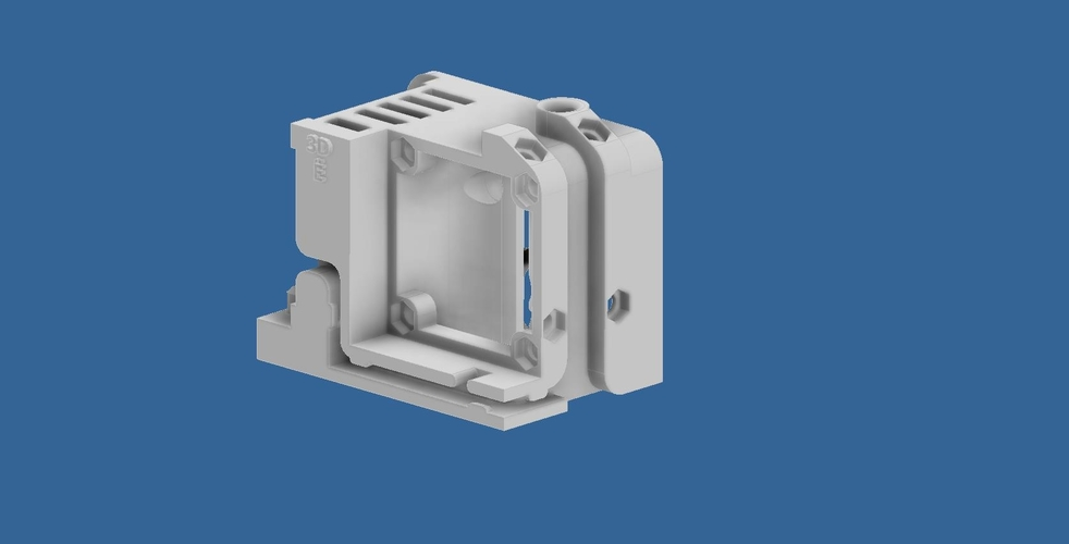 ENDER 3 EXTRUDER COVER COOLING AND MOUNT FOR BL TOUCH (3D TOUCH) 3D Print 255794