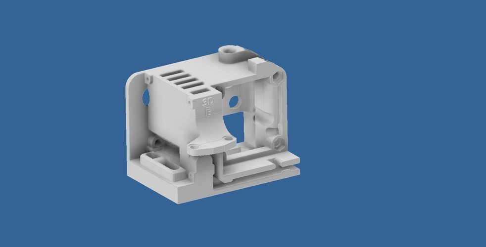 ENDER 3 EXTRUDER COVER COOLING AND MOUNT FOR BL TOUCH (3D TOUCH) 3D Print 255795