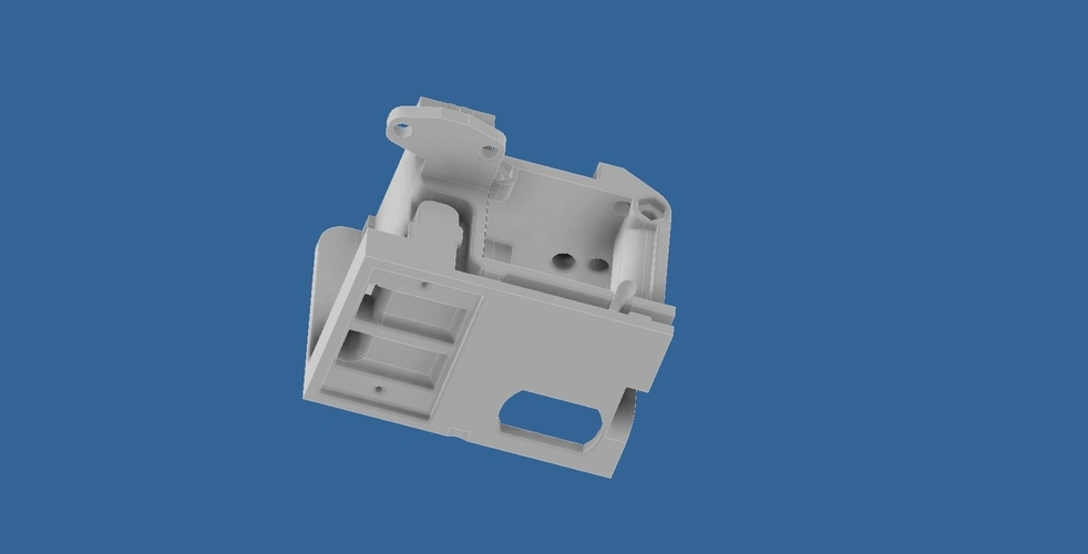 ENDER 3 EXTRUDER COVER COOLING AND MOUNT FOR BL TOUCH (3D TOUCH) 3D Print 255796