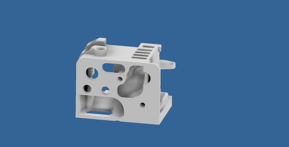 ENDER 3 EXTRUDER COVER COOLING AND MOUNT FOR BL TOUCH (3D TOUCH) 3D Print 255797