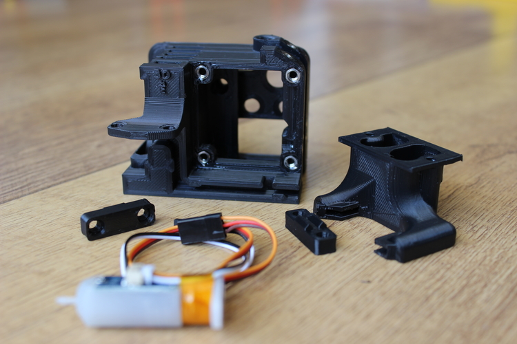ENDER 3 EXTRUDER COVER COOLING AND MOUNT FOR BL TOUCH (3D TOUCH) 3D Print 255804