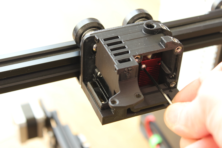ENDER 3 EXTRUDER COVER COOLING AND MOUNT FOR BL TOUCH (3D TOUCH) 3D Print 255808