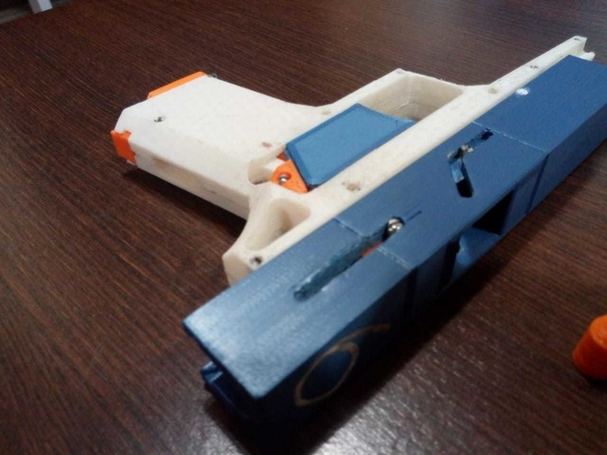 FULLY Fucntional 3D Printable Toy/Prop Gun! 3D Print 256111
