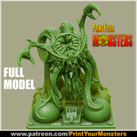 Small TENTACLE MONSTER 3D Printing 256139