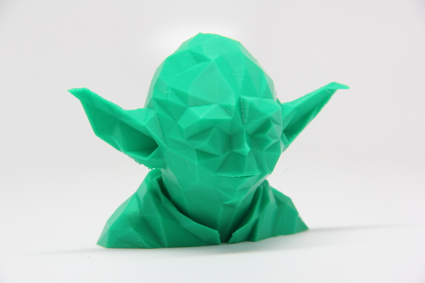 Medium Low Poly Yoda 3D Printing 25616