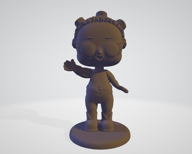 Lol Cosmic Queen   3D Print 256173
