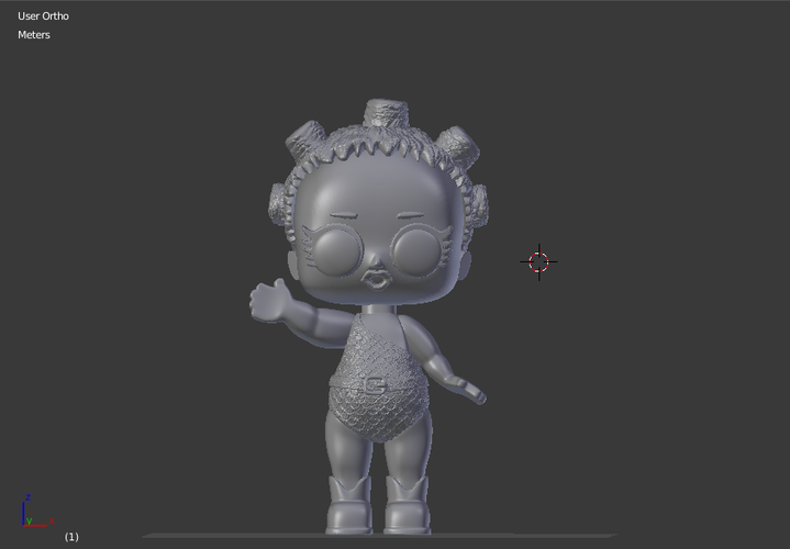 Lol Cosmic Queen   3D Print 256174
