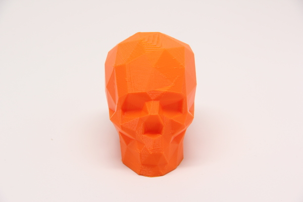 Medium Low Poly Skull 3D Printing 25618