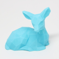 Small Low Poly Fawn 3D Printing 25621