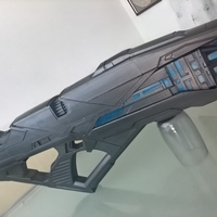Small Vengeance Rifle from the movie Star Trek Into Darkness 2013 3D Printing 256223