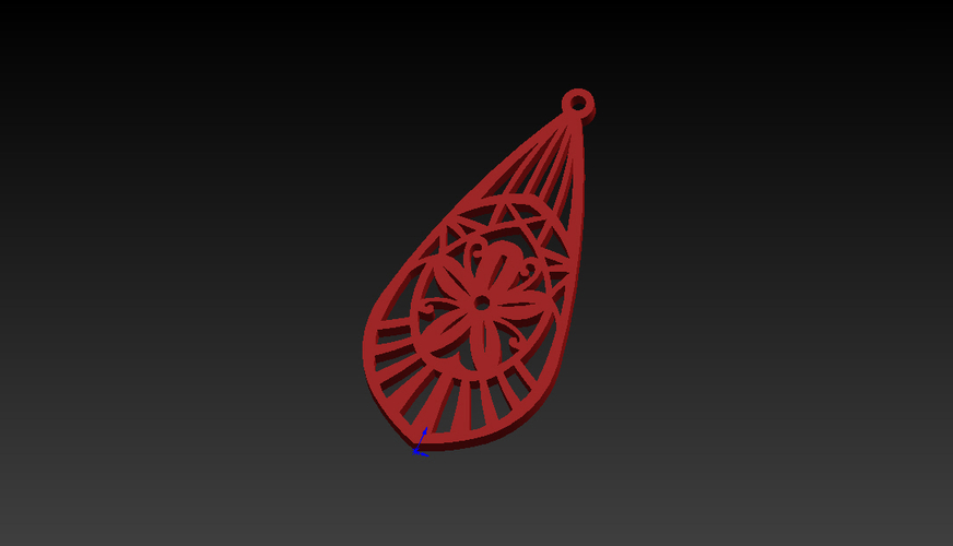 earrings to decorate 3D Print 256233