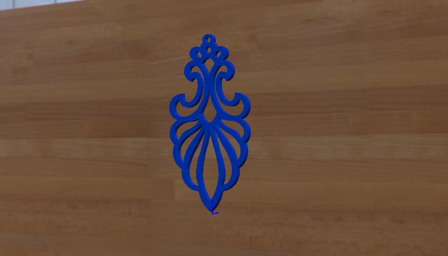 earrings to decorate 3D Print 256234