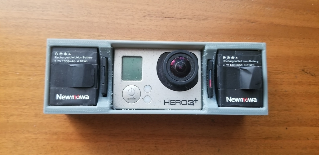 GoPro Hero 3+ Black Case 3D Print 256240