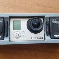 Small GoPro Hero 3  Case 3D Printing 256241