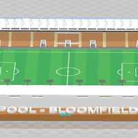 Small Blackpool FC - Bloomfield Road 3D Printing 256274
