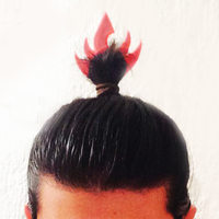 Small Fire Lord headpiece 3D Printing 25630