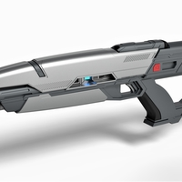 Small Phaser rifle from the movie Star Trek Into Darkness 2013 3D Printing 256368