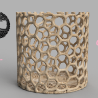 Small Celtic tree of life container 3D Printing 256476