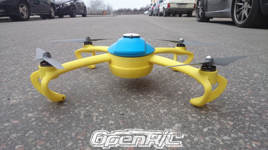 OpenRC Quadcopter (Beta) 3D Print 25666