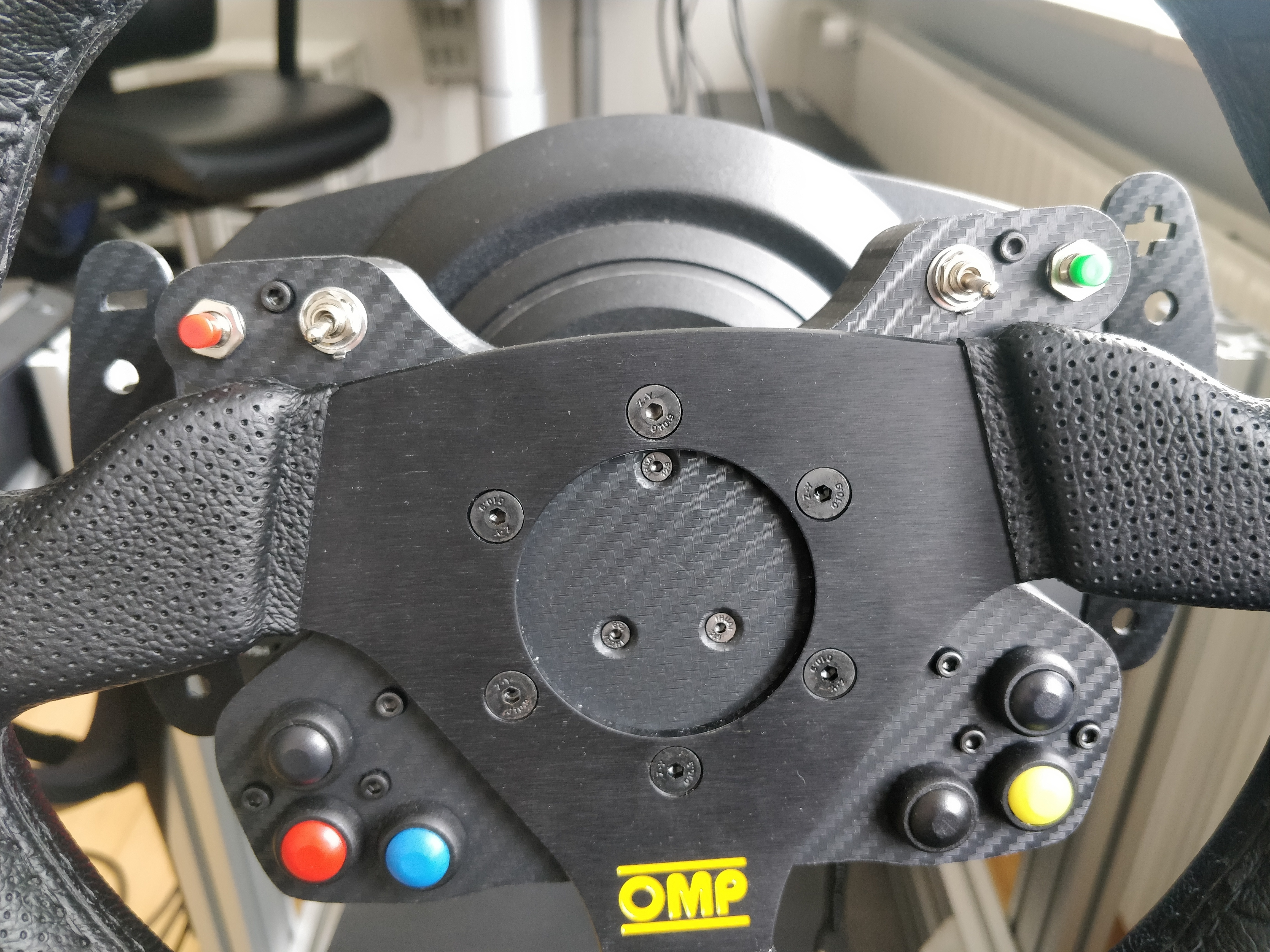 T300 Button Box For OMP Trecento Steering Wheel @ Pinshape