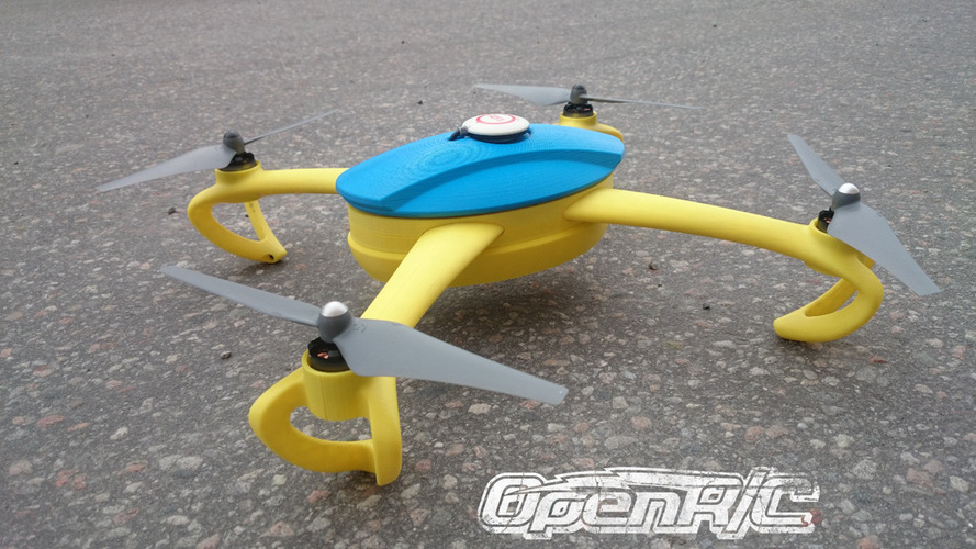 OpenRC Quadcopter (Beta) 3D Print 25667