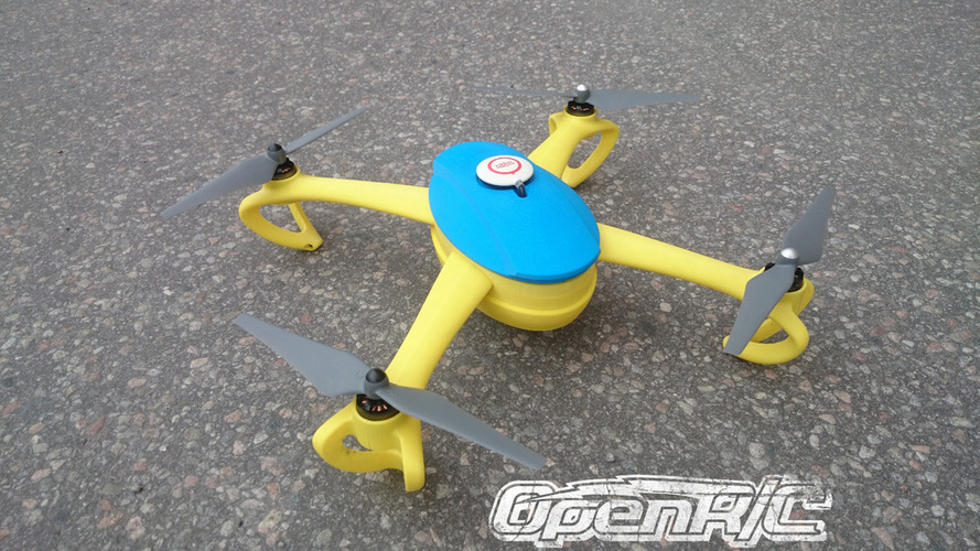 OpenRC Quadcopter (Beta) 3D Print 25668
