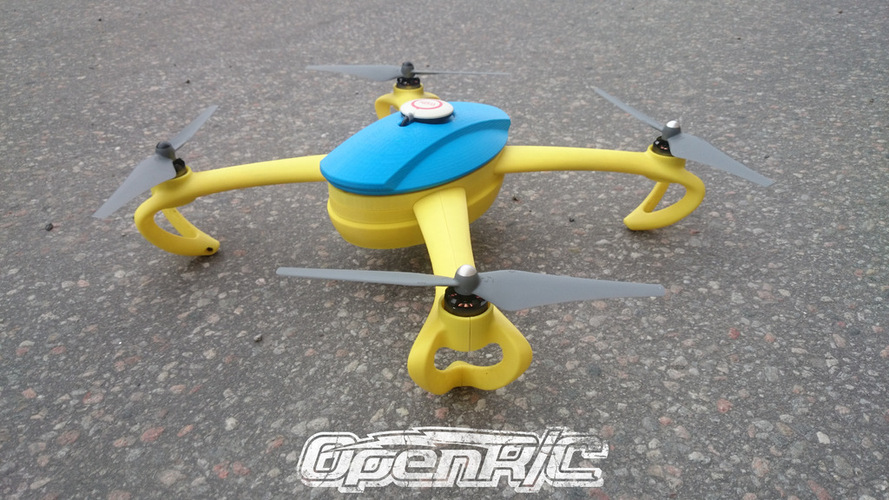 OpenRC Quadcopter (Beta) 3D Print 25669