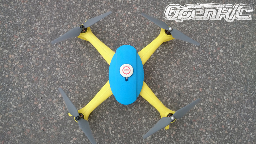 OpenRC Quadcopter (Beta) 3D Print 25670