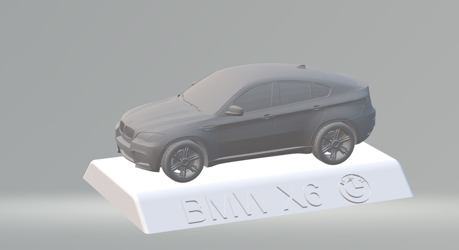 BMW X6 3D CAR MODEL HIGH QUALITY 3D PRINTING STL FILE 3D Print 256710