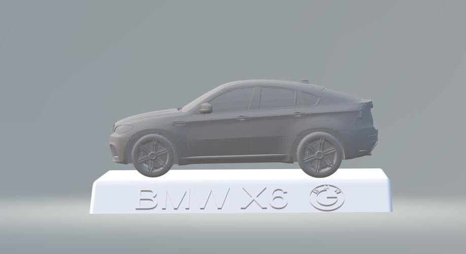 BMW X6 3D CAR MODEL HIGH QUALITY 3D PRINTING STL FILE 3D Print 256711