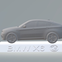 Small BMW X6 3D CAR MODEL HIGH QUALITY 3D PRINTING STL FILE 3D Printing 256711