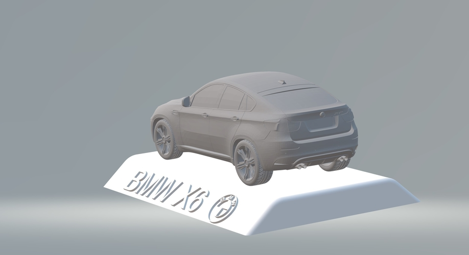BMW X6 3D CAR MODEL HIGH QUALITY 3D PRINTING STL FILE 3D Print 256712