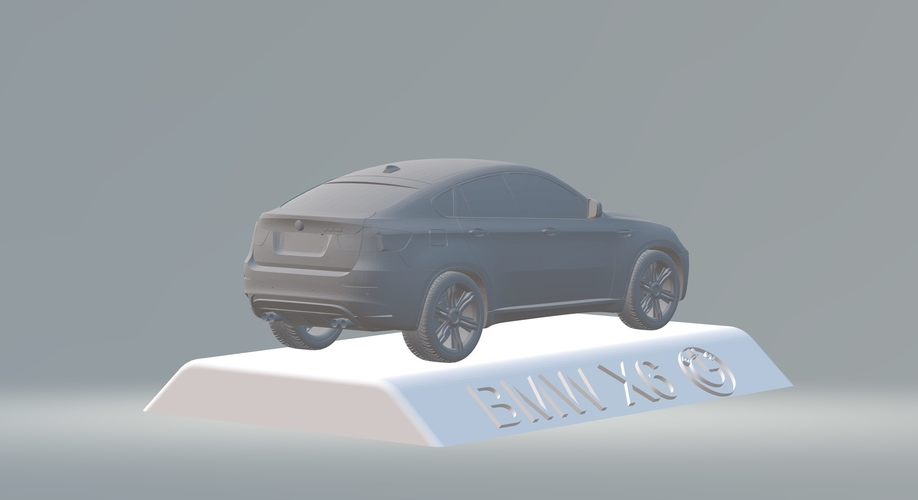 BMW X6 3D CAR MODEL HIGH QUALITY 3D PRINTING STL FILE 3D Print 256713