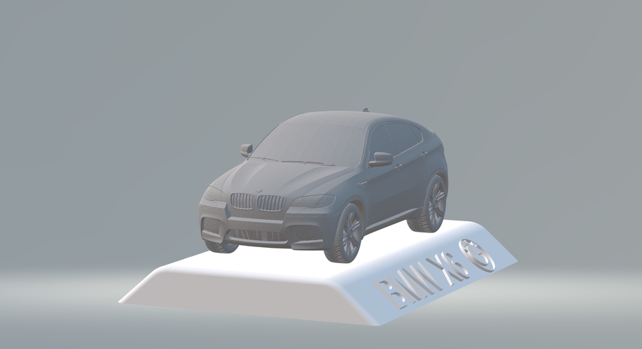 BMW X6 3D CAR MODEL HIGH QUALITY 3D PRINTING STL FILE 3D Print 256714
