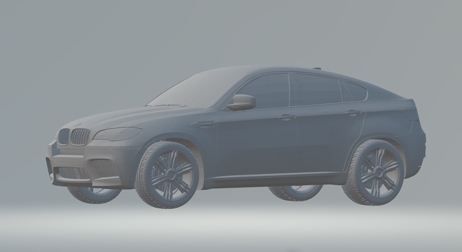 BMW X6 3D CAR MODEL HIGH QUALITY 3D PRINTING STL FILE 3D Print 256715