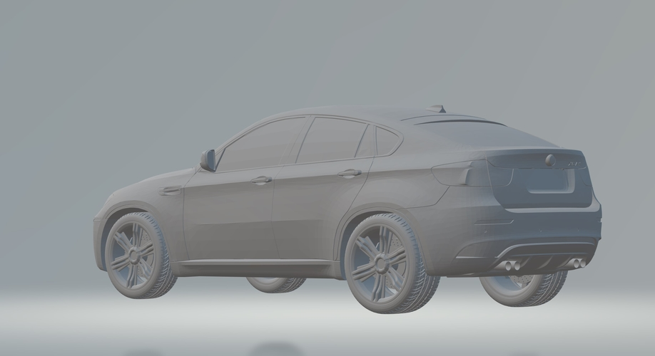 BMW X6 3D CAR MODEL HIGH QUALITY 3D PRINTING STL FILE 3D Print 256716